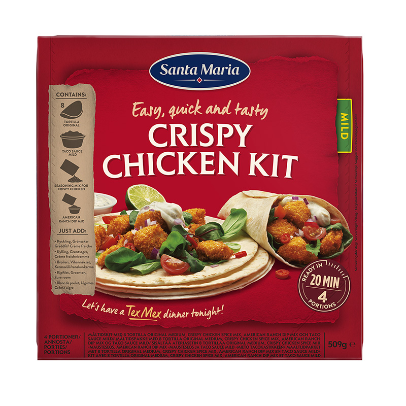 CRIOPY CHICKEN KIT